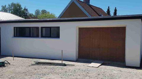 Hus isolering med Isover facadeisolering